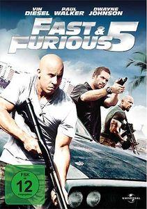 Fast 5 & the Furious Five (DVD) Min: 125DD5.1WS