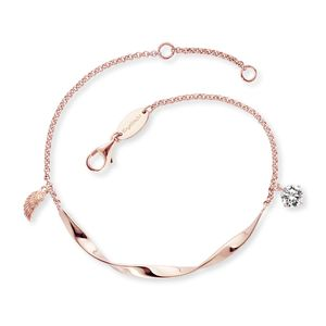 Engelsrufer Armband ERB-TWIST-WING-ZI-R Sterling Silber Rosé vergoldet