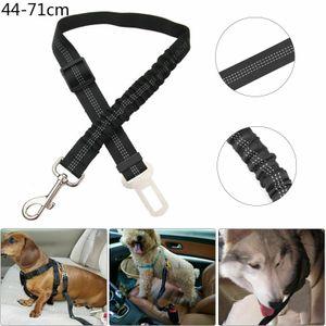 Miixia Hunde Auto Sicherheitsgurt Hundegurte elastische Anschnallgurt Für Hundegeschirr