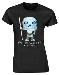 Game of Thrones T-Shirt White Walker Cartoon Gr. M - T-Shirts