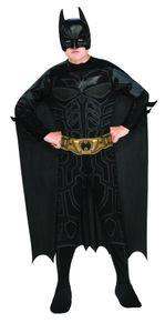DC-Comics Batman Kostüm für Kinder, Größe:L