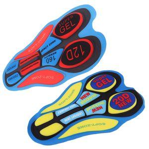 3D Gel Polster Sitzpolster Kissen Pad 2er Set für Radhose Radlerhose Fahrradhose