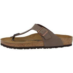 BIRKENSTOCK Gizeh Damen Zehentrenner Braun Schuhe, Größe:40