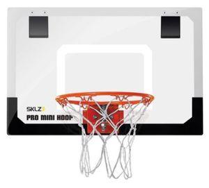SKLZ Mini Basketball Indoor Korb mit Ball ideal für das Büro und Kinderzimmer (ca. 60 x 40cm)
