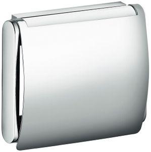Keuco Toilettenpapierhalter PLAN mit Deckel verchromt