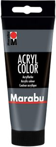 Marabu Acrylfarbe Acryl Color 100 ml dunkelgrau 079