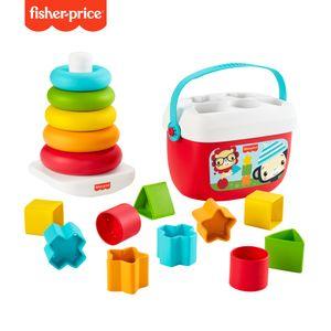 Fisher-Price Nachhaltiges Stapel & Sortierspiel Spielset,  pflanzliche Materialien