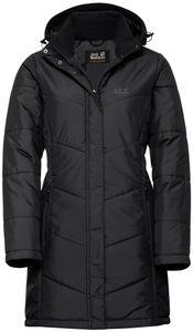 Jack Wolfskin Svalbard Mantel Damen black Größe L