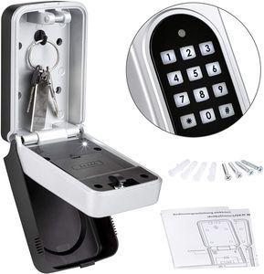 ONVAYA® Schlüsselsafe mit Zahlencode elektrisch | Schlüsselkasten | Keysafe