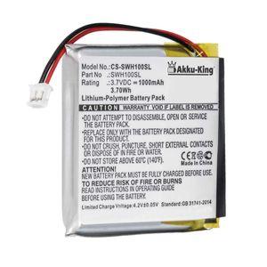 Akku kompatibel mit Sony SP 624038 - Li-Polymer 1000mAh - für WH-1000xM3