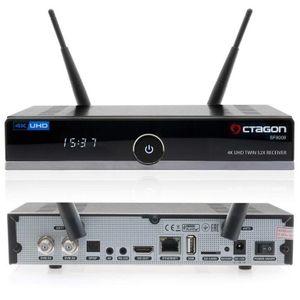 Octagon SF8008 Twin DVB-S2X 4K Ultra High Definition Receiver Linux SF 8008