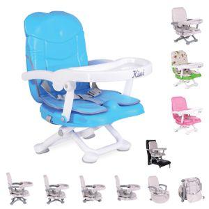 Kinderstuhl Kiwi, Kinder Stuhl-, Sitzerhöhung, Boostersitz, Tisch, klappbar, Farbe:blau