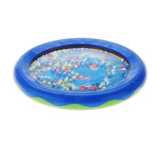 Andoer® Ozean Welle Perle Trommel Sanfte See Klang Musikalisches Pädagogisches Spielzeug Werkzeug für Baby Kinder