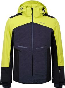 Icepeak Herren Wintersport Skijacke Ski Jacke Winterjacke Fate schwarz gelb, Größe:56