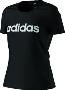 Adidas D2M Logo Tee Black/White L