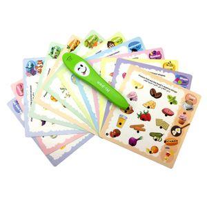 Arabische Sprache Lesestift Pädagogisches Spielzeug für Kleinkinder Lernspiele