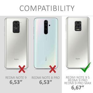kwmobile Case kompatibel mit Xiaomi Redmi Note 9S / 9 Pro / 9 Pro Max - Hülle Handy - Handyhülle in Transparent