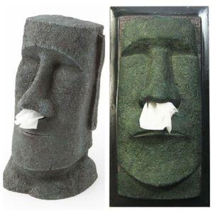 Rotary Hero Moai Tissue Box Cover