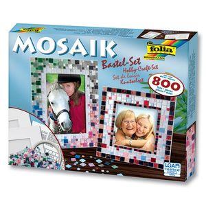 Folia Mosaiksteine Bastelset, über 800 Teile
