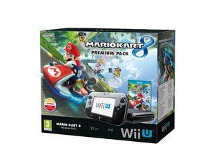 Nintendo Wii U: Premium Pack + Mario Kart 8, Wii U, 2048 MB, DDR3, SD, SDHC, 8 GB, 802.11b, 802.11g, 802.11n