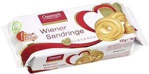 Coppenrath Wiener Sandringe Sprtizgebäckringe mit mürben Krume 200g