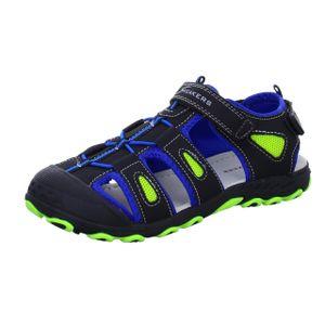 Sneakers Jungen-Sandalette Schwarz, Farbe:schwarz, EU Größe:36
