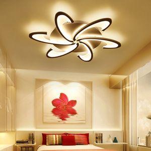 6 Köpfe Helligkeit Dimmbar LED Deckenlampe Wohnzimmer Esszimmer Schlafzimmer Deckenleuchte Dimmbar