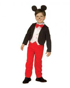 Maus Kinderkostüm für Fasching & Karneval Größe: M (116)