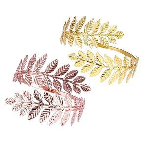 2 Pcs Manschette Armband Offenen Oberarmband Verstellbar Armreif Stapelbar Armspamge für Frauen / Mädchen
