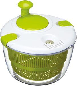 Salatschleuder und Dressing-Hilfe in Geschenkschachtel, BPA-Freies Plastik, Groß (24,5 cm)