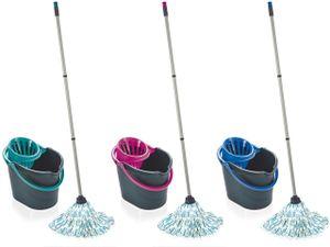 Classic Mop Set grey lagoon, grey pink, grey blue