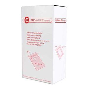 NOBA Rudavlies sterile Wundpflaster 50 Stück 20 cm x 10 cm