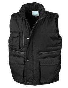 Workguard Lance Bodywarmer - Farbe: Black - Größe: XXL