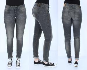 Herrlicher Damen Jeans Pitch, Gila, Piper, Inch Größen:W32/L30, Herrlicher Farben:Gila Slim - Dark Ash