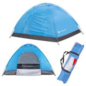 Zelt Campingzelt 2 Personen Outdoor Tent pop-up - Blau