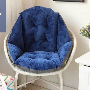 Körperform Warm Mat Chair Allround Pad Sofakissen Dunkelblau