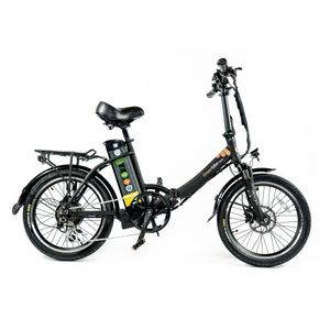 "City20 Premium Light - 20"" E-Faltrad, E-Bike, Pedelec, 48V / 15.9 Ah / 150 Km Akku-Reichweite, 250W Motorleistung"