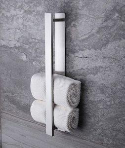 VADOOLL  Handtuchhalter Selbstklebend Handtuchstange Ohne Bohren Gästehandtuchhalter Edelstahl 40 cm