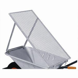 Schubkarren-Durchwurfsieb 100x60cm, grau