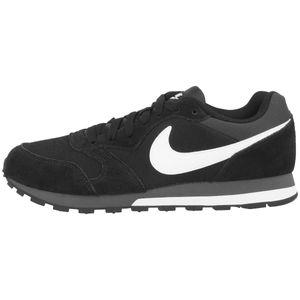 NIKE Turnschuhe sportliche MD Runner 2 Herren Sneaker Schwarz Schuhe, Größe:43