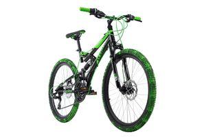 Kinderfahrrad MTB 24'' Crusher KS Cycling 169K