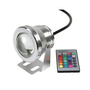 Unterwasserlicht Aluminium mit RGB Spot