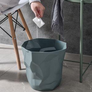 Mülleimer Papier Abfall Müll Recycling Papierkorb Ohne Deckel Müll Room Mülleimer Müllabfallbehälter Abfall Bin Mittel Aufbewahrungseimer Solide Dunkelgrün Klein