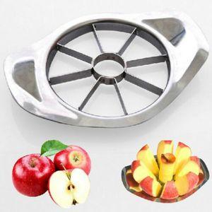 Edelstahl Apfelteiler Apfelschneider Birnenteiler Obstteiler 8 Spalten Neu-H01
