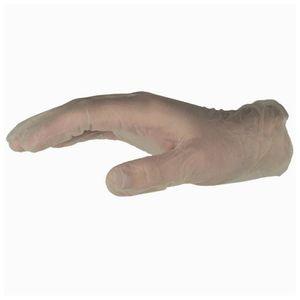 100 Stück  Ulith Einmal-Handsschuhe Einweg-Handschuhe puderfrei transparent Größe L