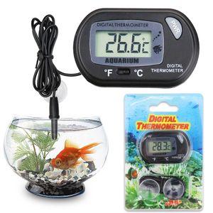 Digital LCD Fisch Aquarium Wasser Thermometer Temperatur Anzeige Messergerät