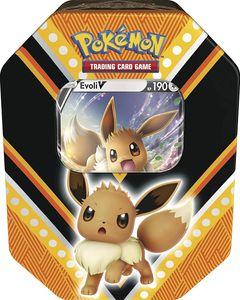Pokemon Sammelkarten Tin Box V-Power, Charakter:Evoli-V