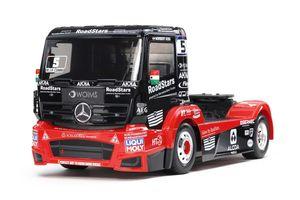Tamiya Bausatzmodell 1:14 RC M-B Race Truck Actros MP4 TT-01E #58683