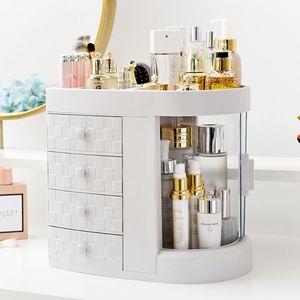 MECO Desktop Kosmetik Organizer Aufbewahrung Makeup Lippenstift Rack Fall Schublade