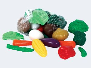 Gowi Gemüse 28 Teile im Netz Kunststoff